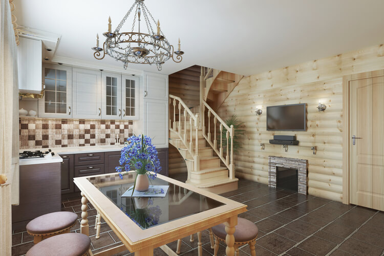 Mixing Home Design Styles Rustic & Traditional 2